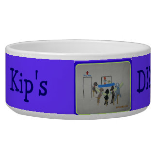 doggy diner - personalized pet bowl