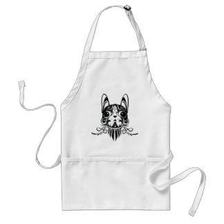 doggy dog puppy design aprons