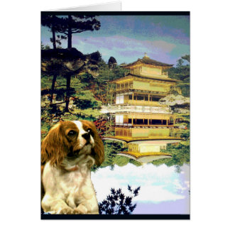 """Doggy Goes to Japan"" Card"