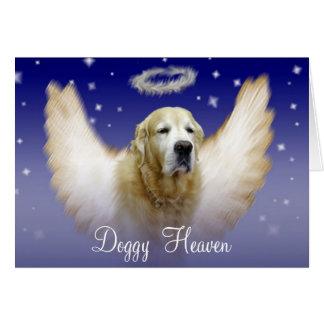 Doggy Heaven Card