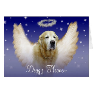 Doggy Heaven Greeting Card