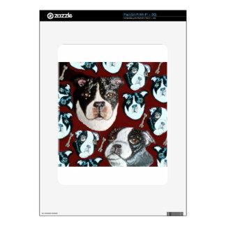 doggy iPad decals