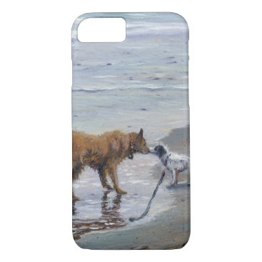 """Doggy Kisses"" Phone Case"