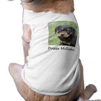 Doggy McDogface Rottweiler Shirt
