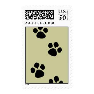Doggy Paw Prints Postage