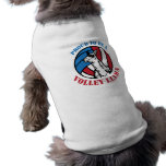 Doggy Proud to be a Volley Llama Shirt Pet Tee