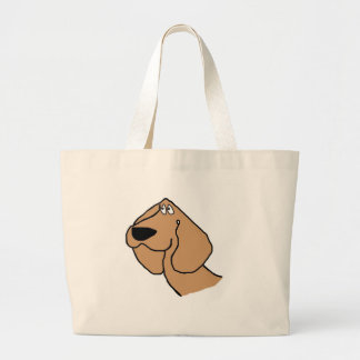 Doggy Puppy Large Tote Bag