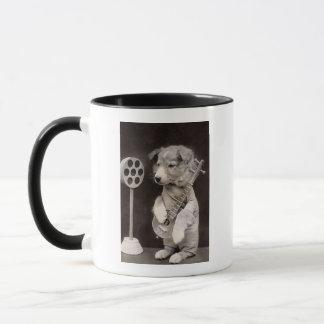 Doggy Radio Star Mug