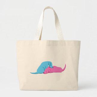 Doggy Snuggle Canvas Bag