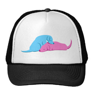 Doggy Snuggle Trucker Hat