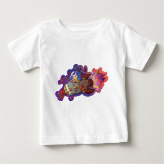 Doggy Space Mission Apparel Baby T-Shirt