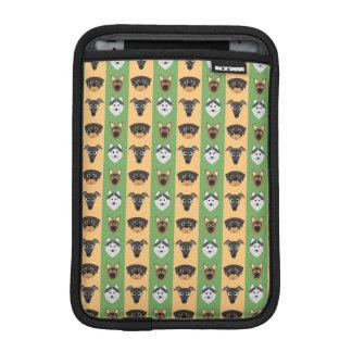 Doggy Stripes iPad Mini Sleeve