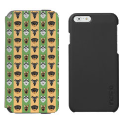 Incipio Watson™ iPhone 6 Wallet Case with Greyhound Phone Cases design