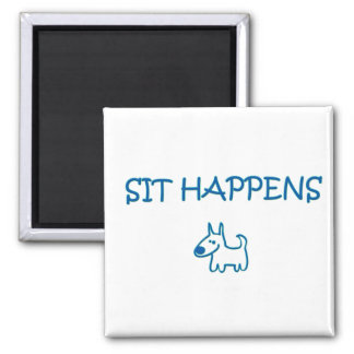 DOGGY STYLE 2 INCH SQUARE MAGNET