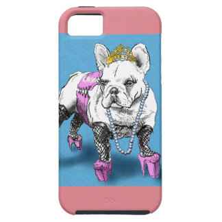 Doggy Style (cute french bulldog) iPhone 5 Covers