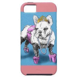 Doggy Style (cute french bulldog) iPhone SE/5/5s Case