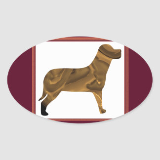 Doggy Style Special Oval Sticker