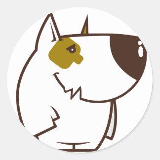 Doggy Style Classic Round Sticker