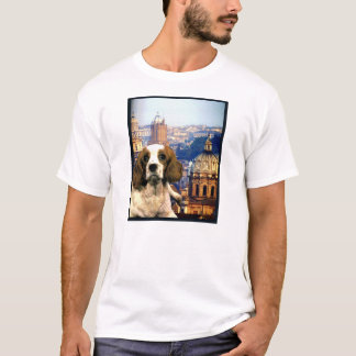 "Doggy Tee ""Doggy Goes to Rome"""