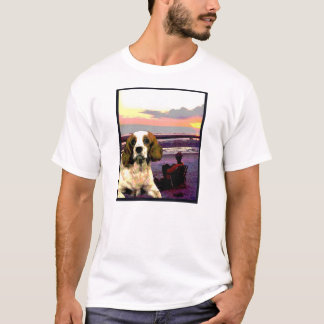 "Doggy Tee ""Doggy Goes to the Beach"""