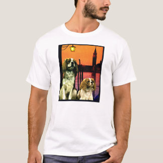 "Doggy Tee ""Doggys in Venice"""