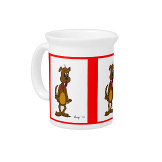 Doggy Toon Pitcher