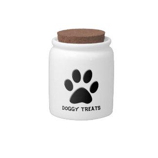 DOGGY TREATS CANDY JAR