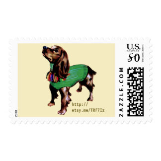 Doggy Turtleneck Sweater U.S. Postage Stamps