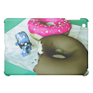 Doghnuts and Toy Robot Speck Case Case For The iPad Mini