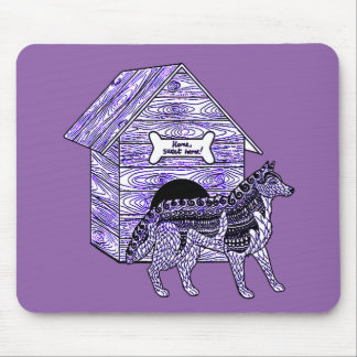 Doghouse Mouse Pad