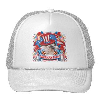 Dogo americano del orgullo gorras de camionero