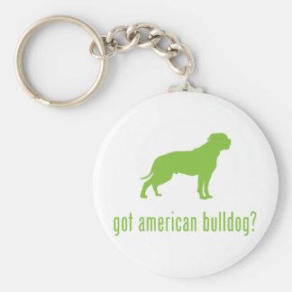 Dogo americano llaveros personalizados