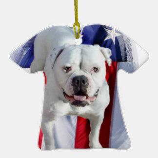 Dogo americano ornamente de reyes