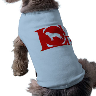 Dogo americano playera sin mangas para perro