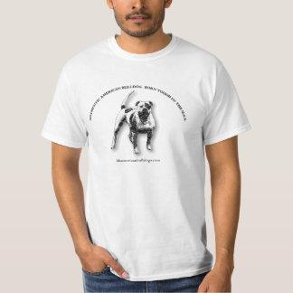Dogo americano remeras