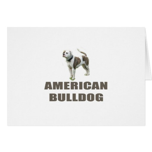 Dogo americano tarjetas
