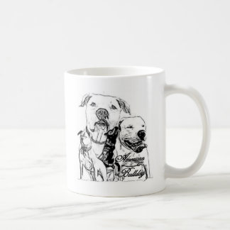Dogo americano taza