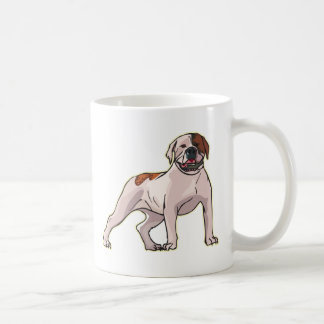 Dogo americano taza de café