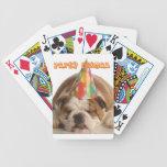 Dogo animal el dormir del Regalo-Fiesta divertido  Barajas De Cartas