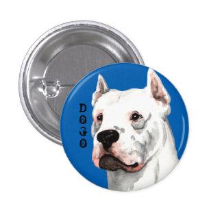 Dogo Argentino Color Block Button