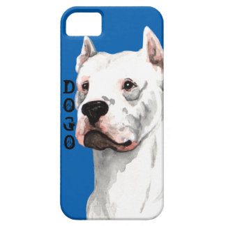Dogo Argentino Color Block iPhone SE/5/5s Case