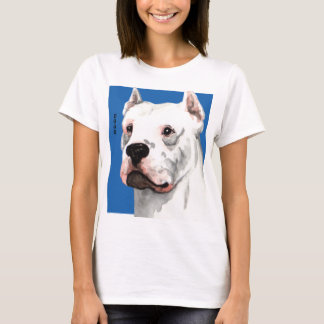 Dogo Argentino Color Block T-Shirt