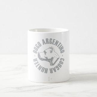 DOGO ARGENTINO COUGAR HUNTER COFFEE MUG
