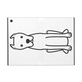 Dogo Argentino iPad Mini Cárcasas
