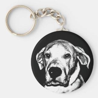 Dogo argentino keychain