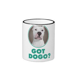 """Dogo Argentino Mug - """"Got Dogo?"""""""