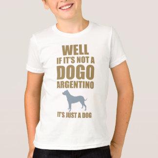 Dogo Argentino Playera