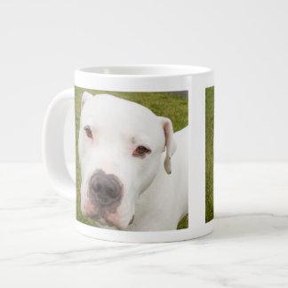 Dogo Argentino 20 Oz Large Ceramic Coffee Mug