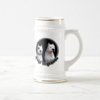Dogo Argentino stein 18 Oz Beer Stein