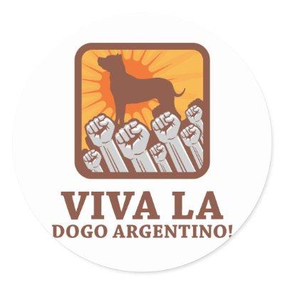 dogo argentino breeders canada. Dogo Argentino Round Stickers